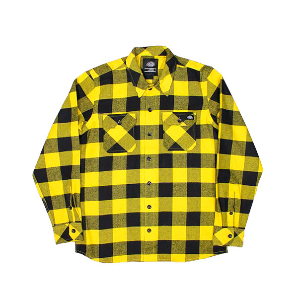 Dickies-Sacarmento-Shirt-Yellow