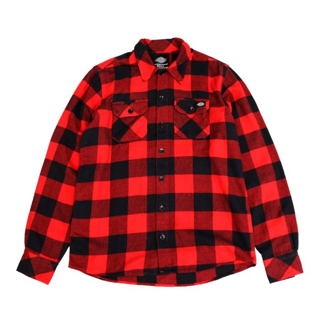 Dickies-Sacarmento-Shirt-red