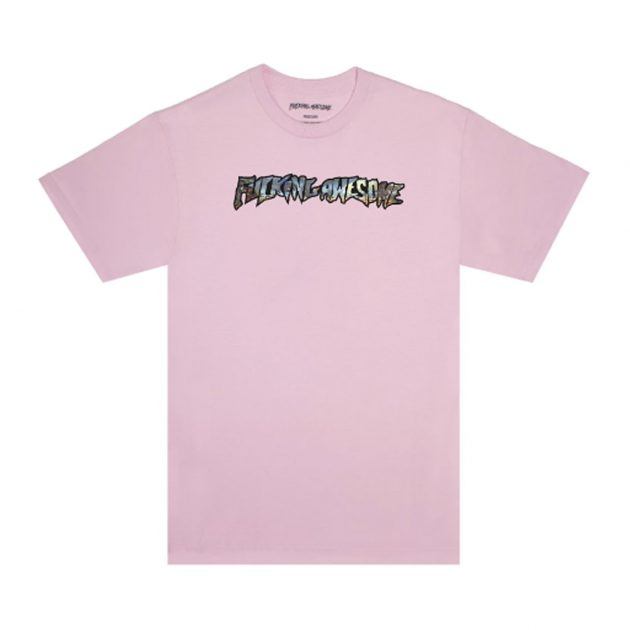 Fucking-Awesome-Extinction-Tee-Pink