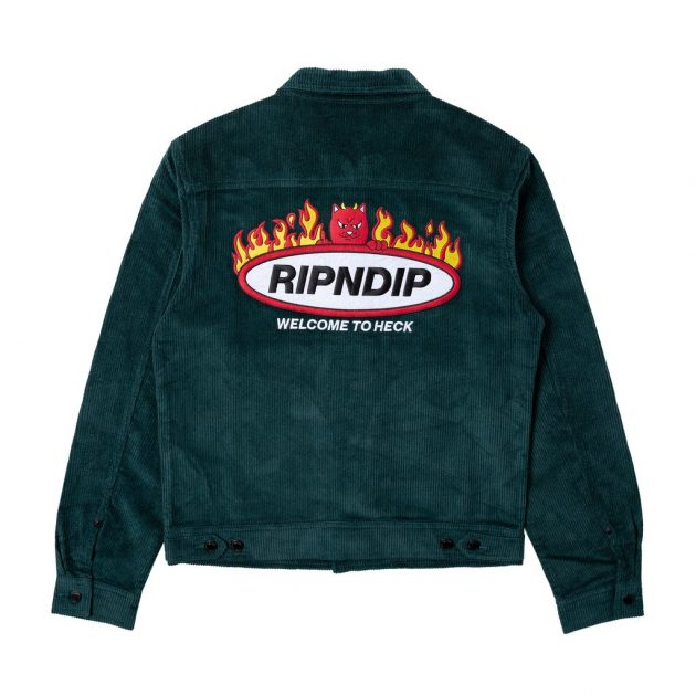 Rip-N-Dip-Welcome-To-Heck-Corduroy-Jacket-Hunter-Green