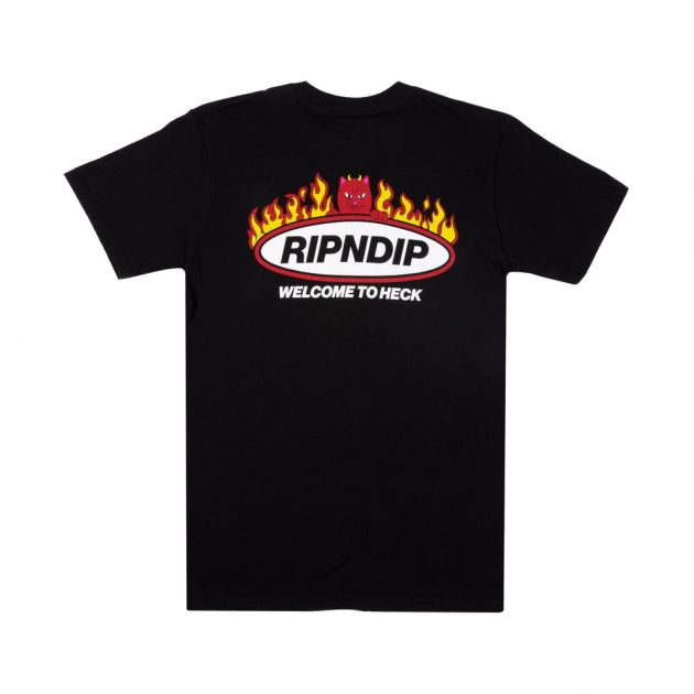 Rip-N-/Dip-Welcome-To-Heck-Tee-Black
