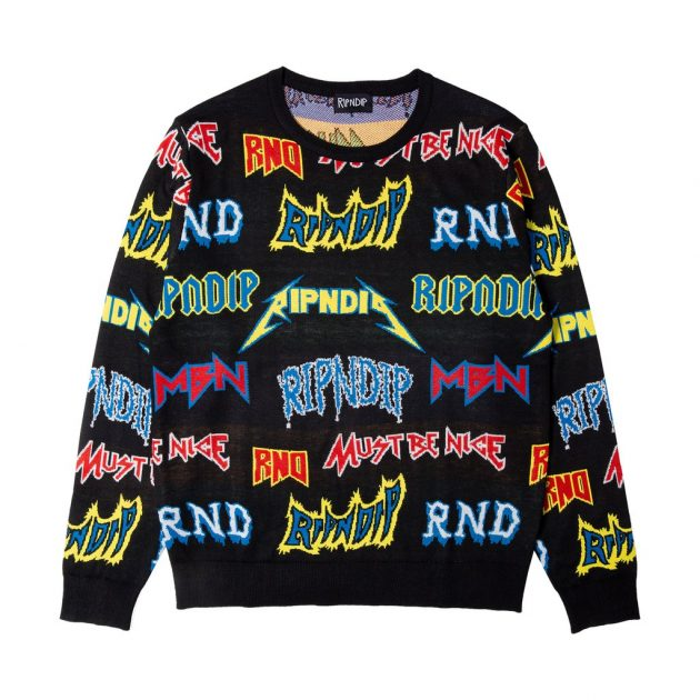 Rip-N-Dip-Rock-N-Nerm-Sweater-Black