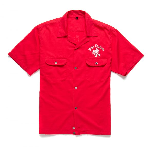 Smile-Back-Shirt.Red-Molten