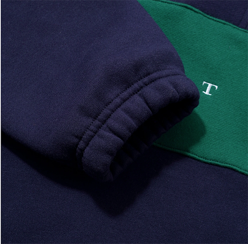 Butter-Goods-Hampshire-1/4-Pullover-Navy