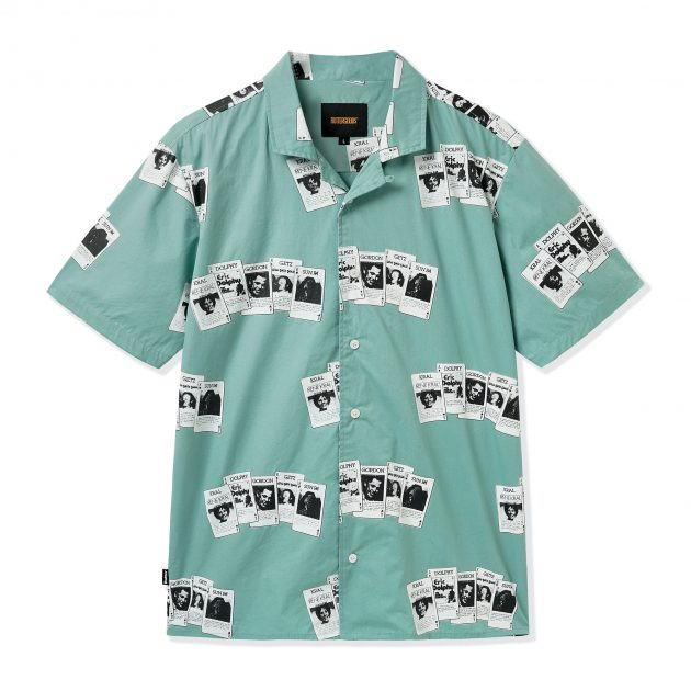Butter-Goods-S/S-Shirt-Sage