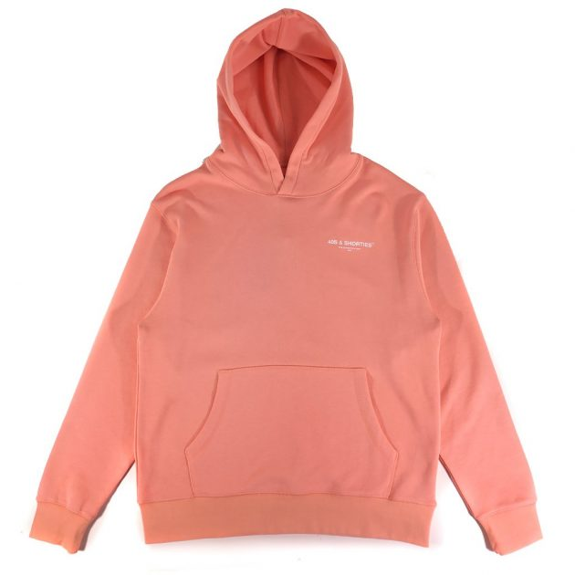 40s-&-shorties-corehoodie-salmon-close-up