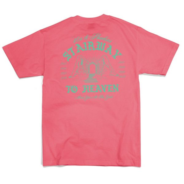Stairway-to-Heaven-Tee-coral-back