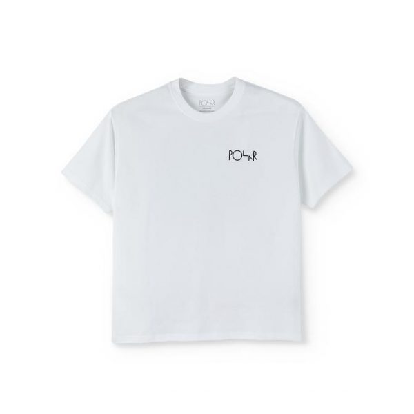 POLAR-FILL-LOGO-TEE-WHITE