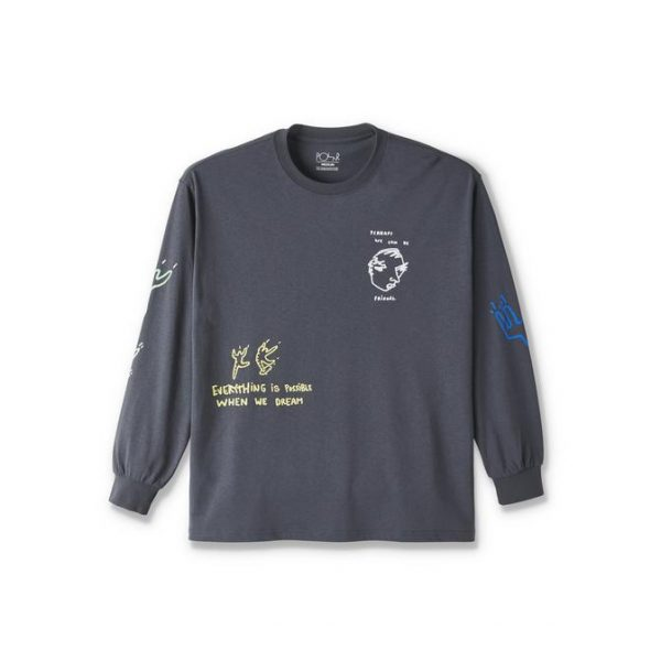 POLAR-NOTEBOOK-LONGSLEEVE-GRAPHITE