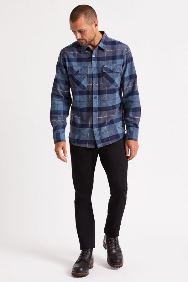brixton-bowery-l-s-flannel