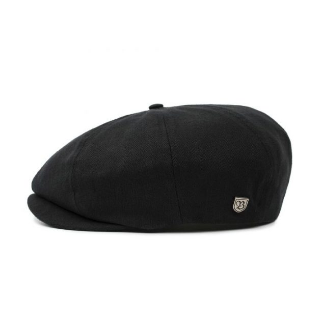 brixton-brood-snap-cap-black