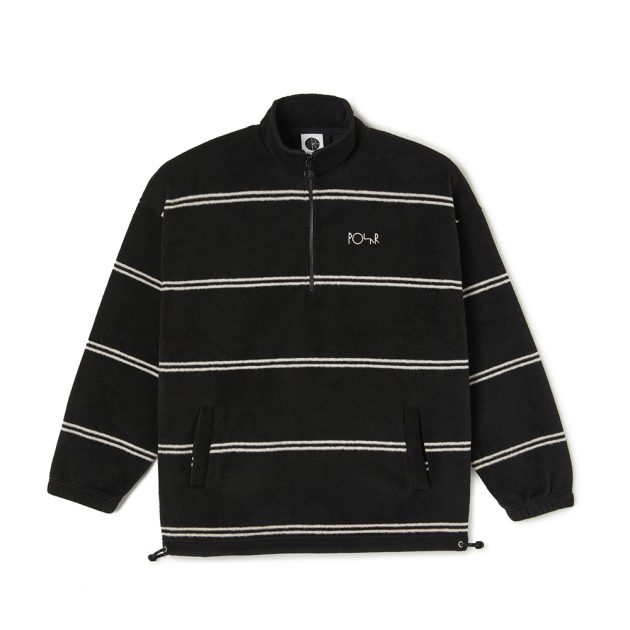polar-STRIPED-FLEECE-PULLOVER-2.0-BLACK-IVORY-1