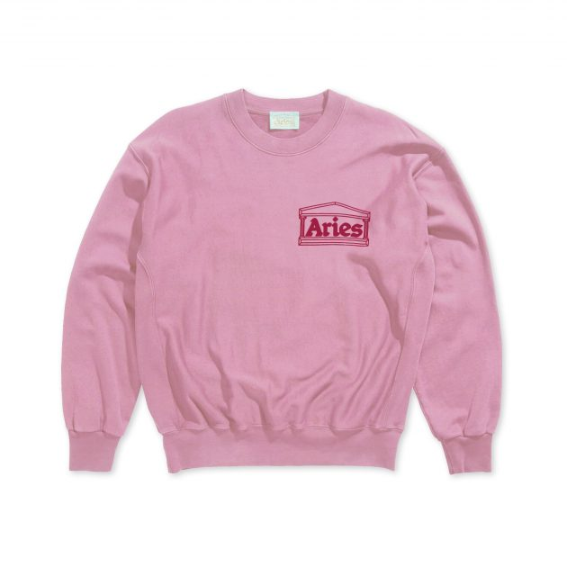 Aries-Classic-Temple-Sweatshirt-pink-01
