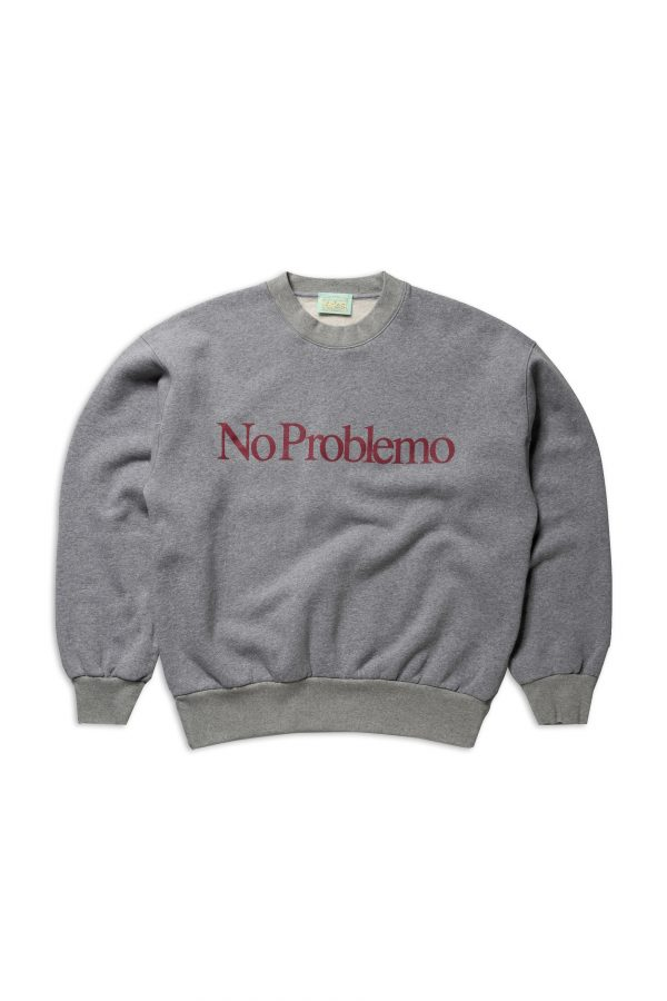Aries-No-Problemo-Sweatshirt-grey