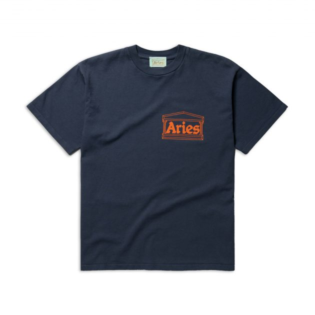 Aries-Temple-SS-Tee-Navy