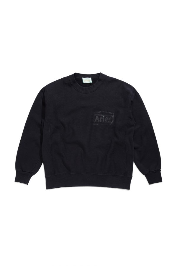 Aries-Classic-Temple-Sweatshirt-black