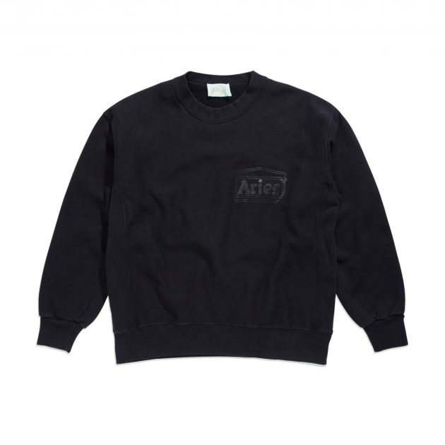Aries-Classic-Temple-Sweatshirt-black