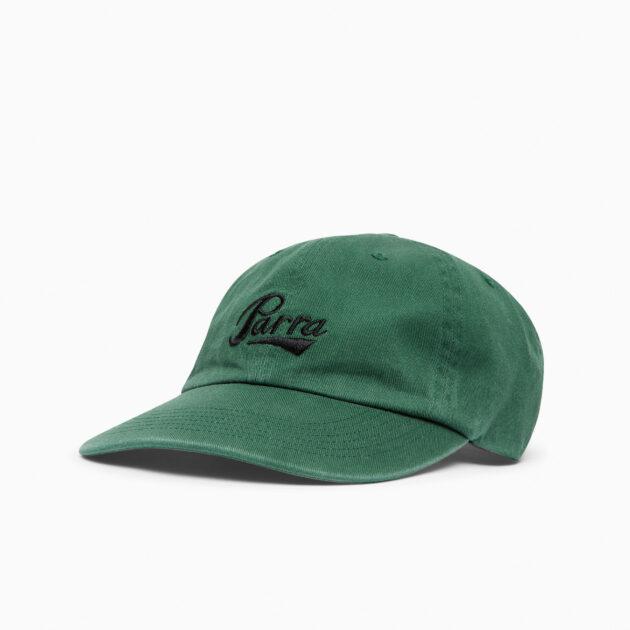 Parra-Pencil-Logo- 6-Panel-Hat-Dark- Green