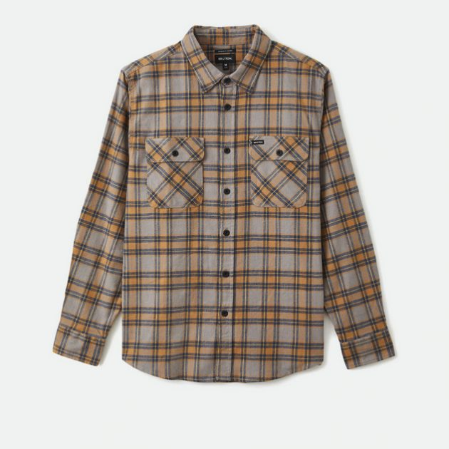 brixton-bowery-stretch-l-s-crossover-flannel-heather-grey